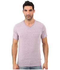 Threads For Thought Baseline Tri Blend V Neck Tee Lavender Men's T Shirt Purple