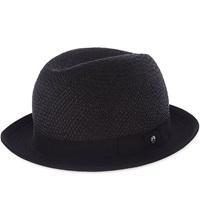 The Kooples Chapeau Straw Hat Black
