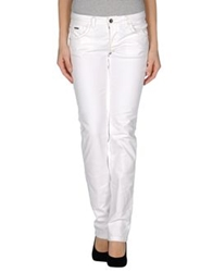 Dek'her Denim Pants Ivory
