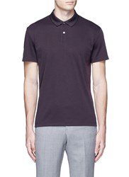 Theory 'Sandhurst' Pima Cotton Blend Pique Polo Shirt Red