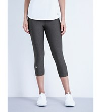 Under Armour Heatgear Jersey Capri Leggings Grey