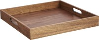 Cb2 Square Walnut Tray