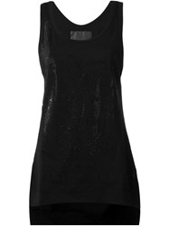 Philipp Plein 'Live' Tank Top Black