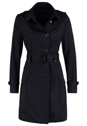 Comma Trenchcoat Dark Blue