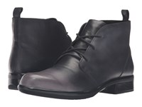 Naot Footwear Levanto Gray Black Leather Women's Boots