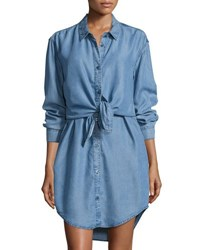 Cheap Monday Great Button Up Shirtdress Luv Blue