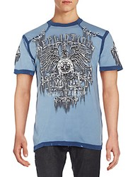 Affliction Secure Graphic Tee Navy