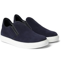 Mr. Hare Llewelyn Suede Slip On Sneakers