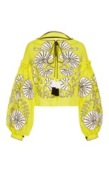 Yuliya Magdych Flower Shells Blouse Yellow