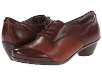 Naturalizer Hampshire Bridal Brown Burnt Siena Leather Women's Shoes