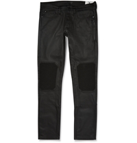 Belstaff Blackrod Coated Stretch Denim Biker Trousers