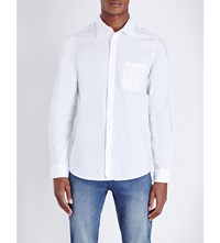 Cheap Monday Rude Regular Fit Cotton Shirt White