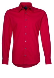 Olymp Level 5 Formal Shirt Rot Red