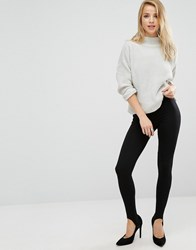 New Look High Waisted Leggings Black