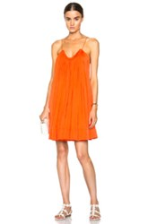Stella Mccartney Judy Tank Dress In Orange