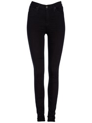 Lee Skyler High Waist Skinny Jeans Black