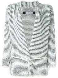 Humanoid 'Noon' Cardigan Nude And Neutrals