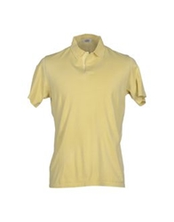 Valdoglio Polo Shirts Light Yellow