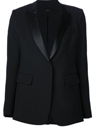 Adam By Adam Lippes Adam Lippes One Button Blazer Black