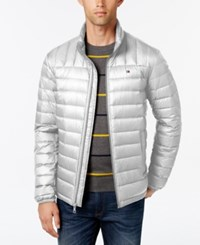 Tommy Hilfiger Nylon Packable Jacket Ice