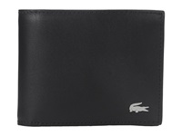 Lacoste Fg Small Billfold Black Bill Fold Wallet