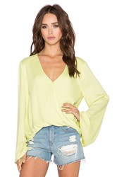 Blue Life Hayley Top Lime