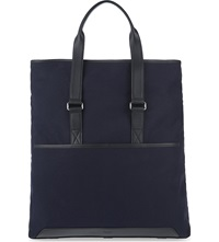 Reiss Trapper Canvas Tote Navy