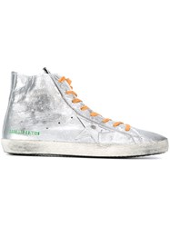 Golden Goose Deluxe Brand 'Francy' Hi Top Sneakers Metallic