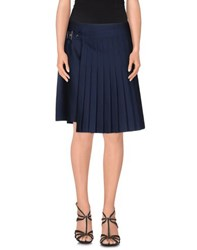 Salvatore Ferragamo Skirts Knee Length Skirts Women Blue