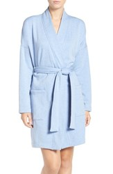 Uggr Women's Ugg 'Braelyn' Fleece Robe Pajama Blue Heather