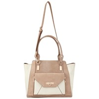 Miss Selfridge Contrast Oversized Tote Camel