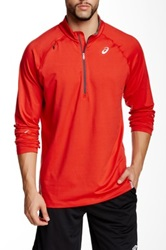 Asics Thermal Lt Half Zip Pullover Red