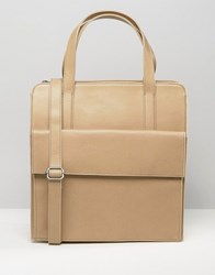 Matt And Nat Tote Shopper Bag Cardamom Beige