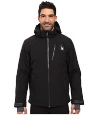 Spyder Chambers Jacket Black Black Polar Men's Coat
