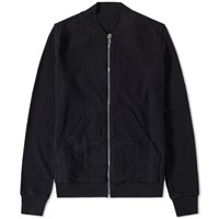 Rick Owens Drkshdw Flight Zip Sweat Black