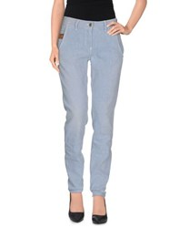 Met And Friends Trousers Casual Trousers Women Blue