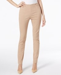Alfani Seamed Skinny Pants Only At Macy's Modern Camel