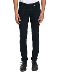 Ikks Navy Gab Slim Fit Trousers