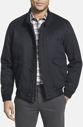 Hart Schaffner Marx Men's 'Hudson' Wool And Cashmere Jacket Charcoal