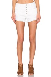 Blank Nyc Button Front Short White Broney