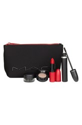 M A C Mac 'Look In Box Downtown Diva' Red Lip And Eye Kit