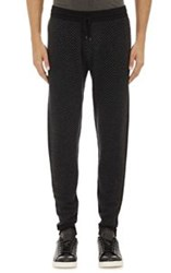 Barneys New York Cashmere Jogger Pants Black