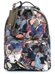 Valentino Garavani Medium 'Camubutterfly' Backpack Multicolour