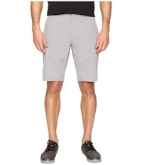 Travis Mathew Giddon Shorts Light Grey Men's Shorts Gray