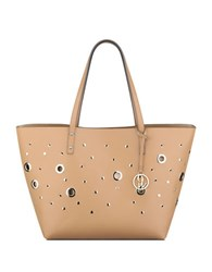 Nine West Darya Top Handle Tote Camel Gold