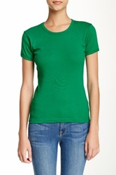 American Apparel Baby Ribbed Tee Green