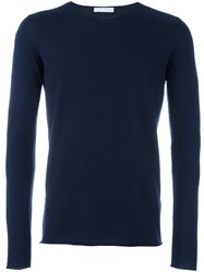 Societe Anonyme 'Universal' Pullover Blue