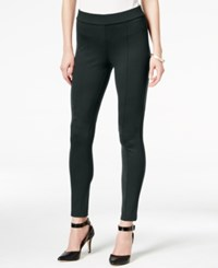 Styleandco. Style Co. Seamfront Ponte Leggings Only At Macy's Carbon Grey