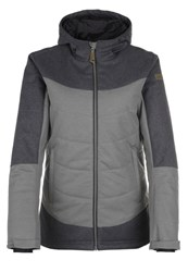 Ziener Temea Ski Jacket Grey Metal