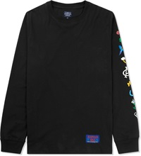 Acapulco Gold Black Flared Out L S T Shirt